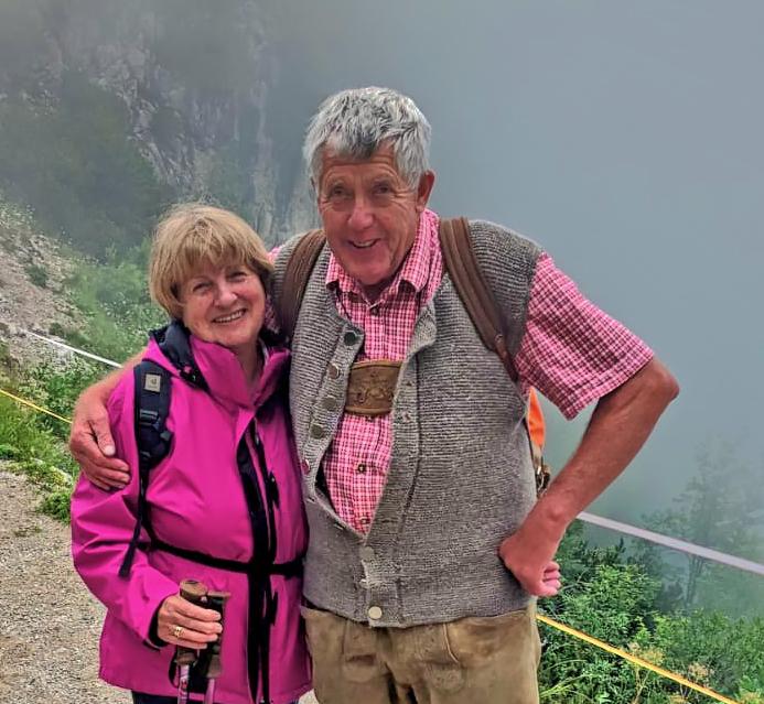 Ihre Gastgeber Carola und Ottmar Eisgruber